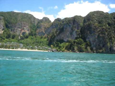 Longtail Boat from Tonsai Beach to ao Nang