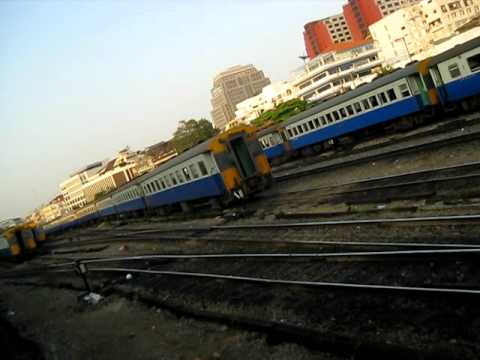 Zugfahrt Bangkok - Lang Suan