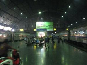 Bahnhof in Bangkok