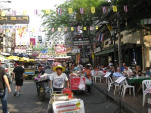 Khao Sarn Scene