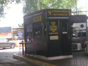 Grenzeübergang malaysia Thailand