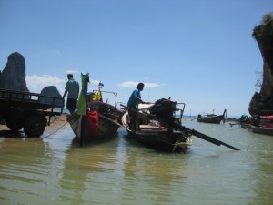 Tonsai Beach Longtail Boat