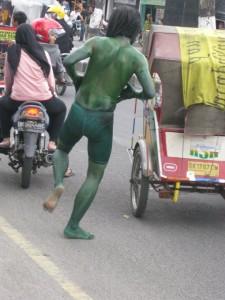 Crazy Hulk in Medan