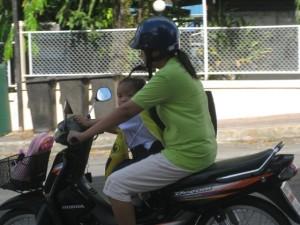 Kindertransport Krad Krabi