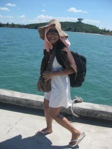 Ma Noi on the Pier