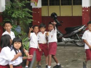 schoolkids-Medan