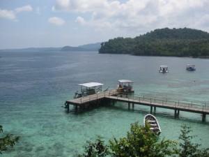 steg-Pulau-Weh Anleger