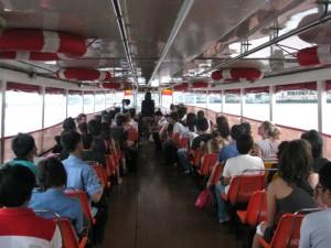 Bootsfahrt Bangkok