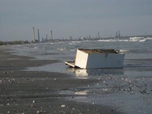 beach mamaia industrial fridge