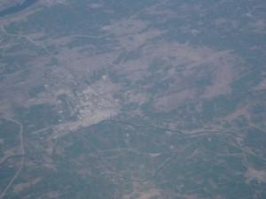Blick auf Rajasthan