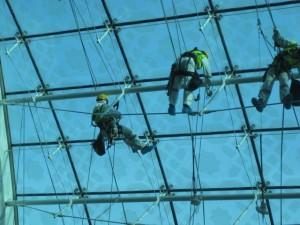 Industriekletterer in Dubai