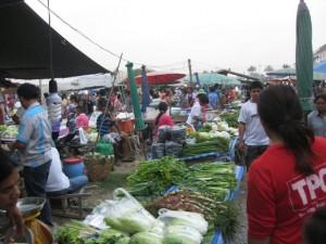Hua-Hin-supermarkt Scene