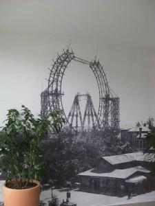 Wiener Riesenrad Baustelle