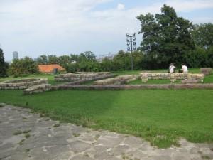 Burg Bratislava am Anfang2