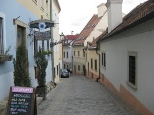 Schmale Gasse Altstadt