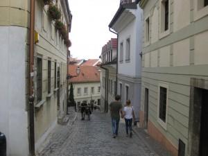 Schmale Gasse Bratislava