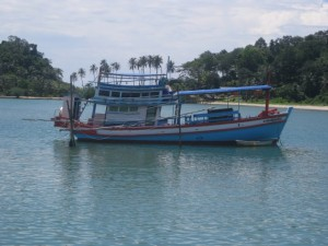 fishing boat bang bao